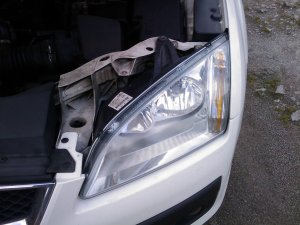 left-hand headlight