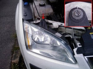 right-hand headlight
